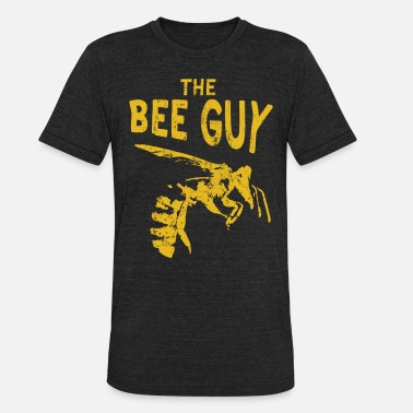 Mens Bee Funny Bee Keeper Design for Men Honey Bee Keeper for Guys - Unisex Tri-Blend T-Shirt