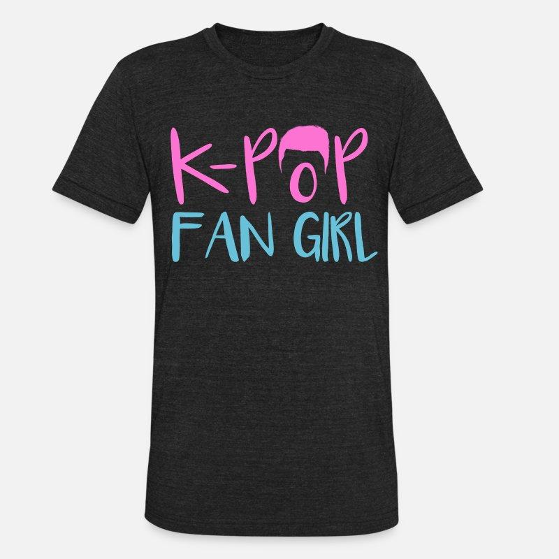 K Pop Korean Music Drama Bias Fan Girl Gift Unisex Tri Blend T