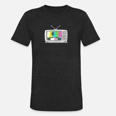 Watch Tv Watching Tv - Unisex Tri-Blend T-Shirt