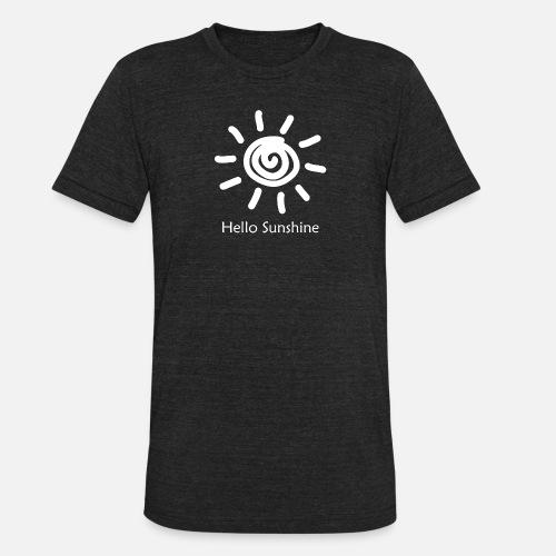 27b386976 vintage Hello Sunshine Unisex Tri-Blend T-Shirt | Spreadshirt