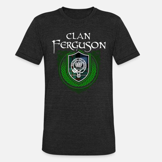Ferguson Surname Scottish Clan Tartan Crest Badge Unisex Tri