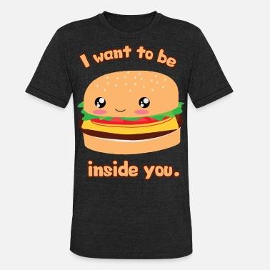 d7286df7494 I Want To Be Inside You (Hamburger) Men s Premium T-Shirt