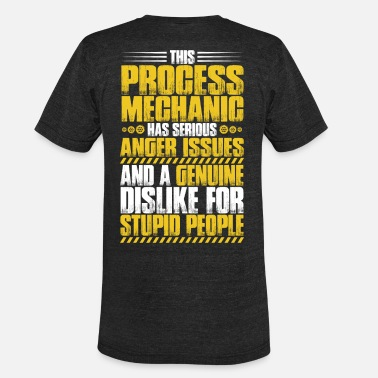 Engineering Design Process Process Mechanic/Process Technology/Engineering - Unisex Tri-Blend T-Shirt