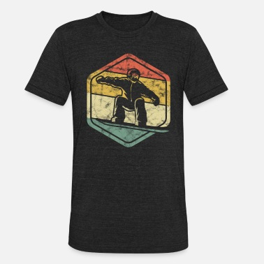 Snowboarder Snowboard Snowboarding Ride For Snowboarders - Unisex Tri-Blend T-Shirt