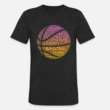 Basketball Lover Basketball Lover Hoops Youth Coach Coaches Gift - Unisex Tri-Blend T-Shirt