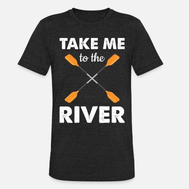 Rower Paddling rower rower rowing rowing - Unisex Tri-Blend T-Shirt