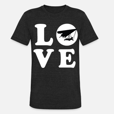 Hang Gliders HANG GLIDER LOVE HANG GLIDERS LOVERS - Unisex Tri-Blend T-Shirt