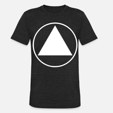 Triangle Equilateral Triangle - Unisex Tri-Blend T-Shirt