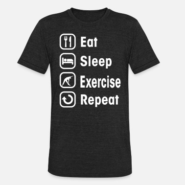 Exercise Class exercise - Unisex Tri-Blend T-Shirt