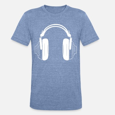 Headset Intricate Headset - Unisex Tri-Blend T-Shirt