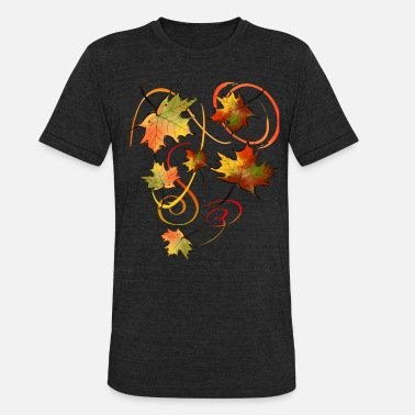Fall Racing The Autumn Wind - Unisex Tri-Blend T-Shirt