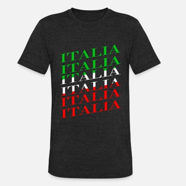National Colors Italy national colors - Unisex Tri-Blend T-Shirt