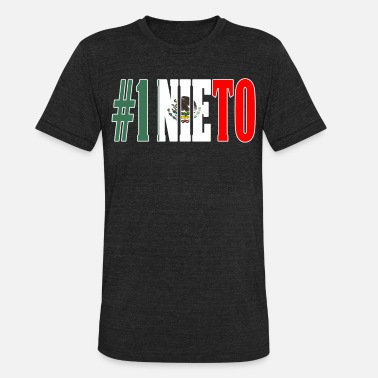 Nieto Nieto Gift Mexican Design For Mexican Flag Design for Mexican Pride Outline - Unisex Tri-Blend T-Shirt