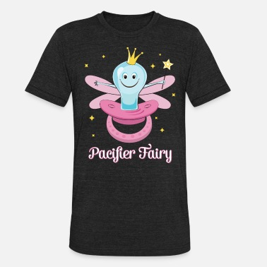 Binky Fairy Paci Fairy Pacifier Fairy Illustration For Girls - Unisex Tri-Blend T-Shirt