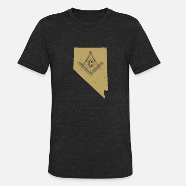 Free Masons Nevada Masonic Secrets Masonic Ritual Shirt Masonic Gifts - Unisex Tri-Blend T-Shirt