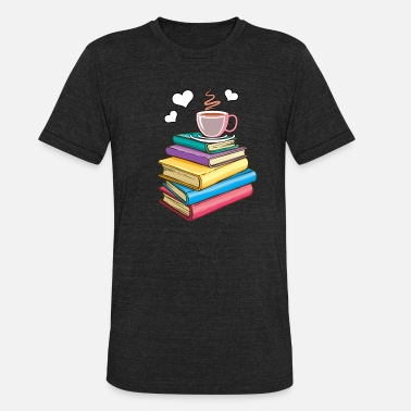 Lovers Funny Novelty Gift For Book Lover - Unisex Tri-Blend T-Shirt
