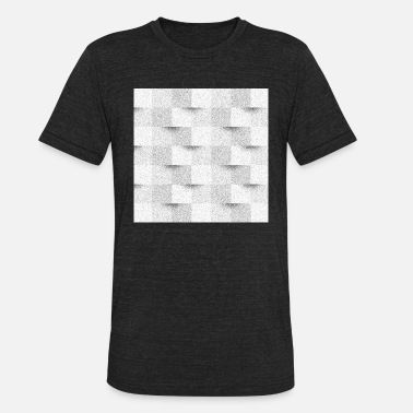 Visual Illusion visual illusion | DiffusionDither - Unisex Tri-Blend T-Shirt