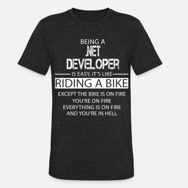 Net NET Developer - Unisex Tri-Blend T-Shirt