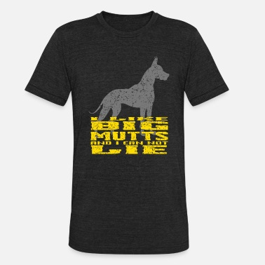 Mutts I Like Big Mutts Gift for Dog Lovers and Adopters - Unisex Tri-Blend T-Shirt