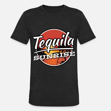 Tequila Sunrise Tequila Sunrise Cocktail Shirt - Unisex Tri-Blend T-Shirt