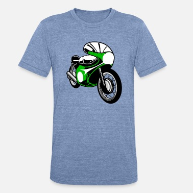 Racing Bike Racing Bike - Unisex Tri-Blend T-Shirt