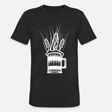 Wheat Beer wheat beer - Unisex Tri-Blend T-Shirt
