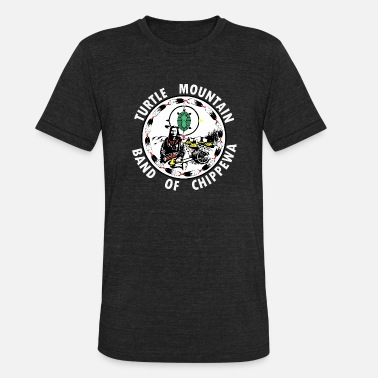 Chippewa Turtle Mountain Band of Chippewa - Unisex Tri-Blend T-Shirt