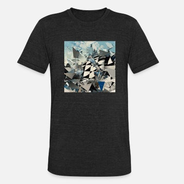 Surrealism Surreal Chess - Unisex Tri-Blend T-Shirt