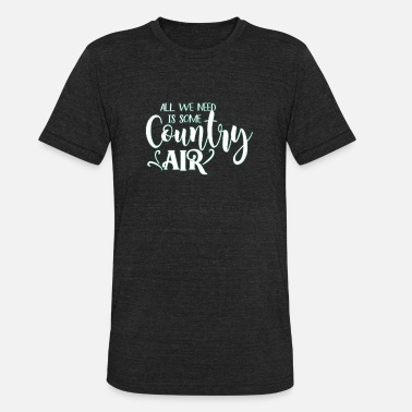 Countries Country - Unisex Tri-Blend T-Shirt