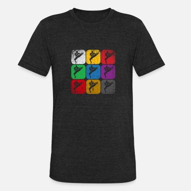 Kicker Karate - Unisex Tri-Blend T-Shirt