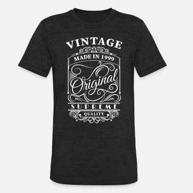 1999 vintage made in 1999 - Unisex Tri-Blend T-Shirt