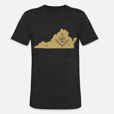 Free Masons Virginia Masonic Secrets Masonic Ritual Shirt Masonic Gifts - Unisex Tri-Blend T-Shirt