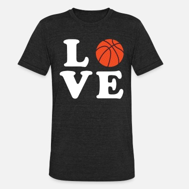 I Love Basketball I love Basketball - Unisex Tri-Blend T-Shirt