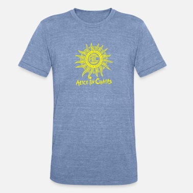 Alice Alice in Chains sun logo TillieMCallaway - Unisex Tri-Blend T-Shirt