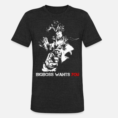 Bigboss Bigboss wants you - Bigboss wants you - bigboss - Unisex Tri-Blend T-Shirt