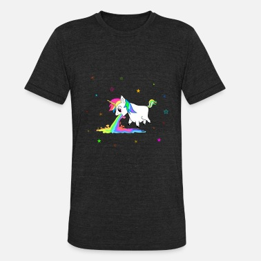 Teen Unicorn Shirt i.e. Present for Birthday Girl, Gift - Unisex Tri-Blend T-Shirt