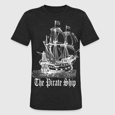 Pirate Ship - Unisex Tri-Blend T-Shirt