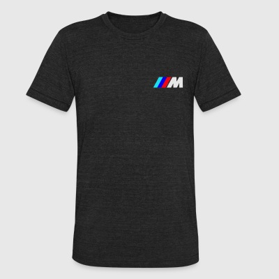 bmw logo clip - Unisex Tri-Blend T-Shirt by American Apparel