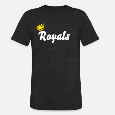Kc Royals Royal - Unisex Tri-Blend T-Shirt