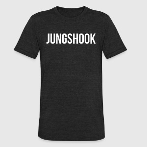 Jungshook (White) - Unisex Tri-Blend T-Shirt by American Apparel