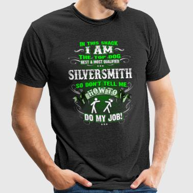 Shirts for Men, Job Shirt Silversmith - Unisex Tri-Blend T-Shirt