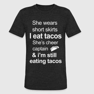 Funny Tacos Lover - Unisex Tri-Blend T-Shirt