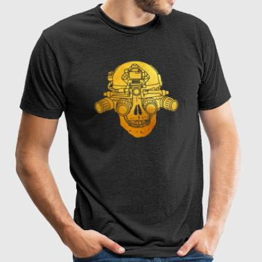 Limited Edition - Spectre - Unisex Tri-Blend T-Shirt by American Apparel
