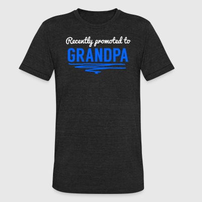 Recently Promoted To Grandpa - Unisex Tri-Blend T-Shirt by American Apparel