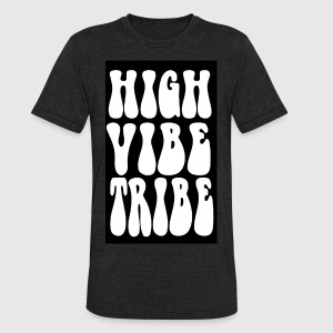 Truth TEES High vibe HIPPY 2 - Unisex Tri-Blend T-Shirt by American Apparel