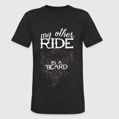 BEARD - MY MOTHER RIDE IS A BEARD - Unisex Tri-Blend T-Shirt by American Apparel