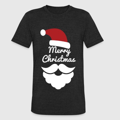 Christmas - Merry Christmas! - Unisex Tri-Blend T-Shirt by American Apparel