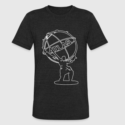 Atlas - Mighty Atlas - Unisex Tri-Blend T-Shirt by American Apparel