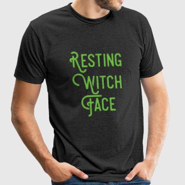 Witch - Resting Witch Face - Unisex Tri-Blend T-Shirt