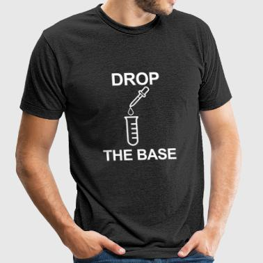 Chemistry - drop the base - Unisex Tri-Blend T-Shirt by American Apparel